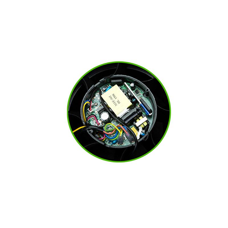 inside of fan