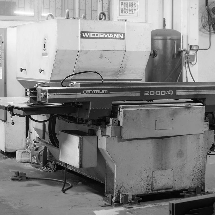 16.Metal Plate Machining Line